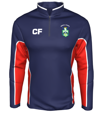 Redhill School P.E. Girls 1/4 Zip Midlayer [RHS]