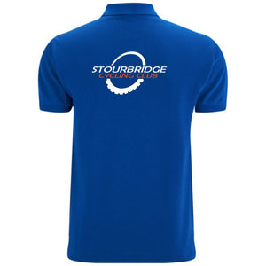 SCC Blue Polo Shirt
