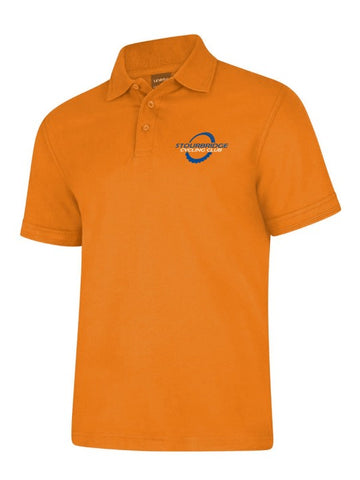SCC Orange Polo Shirt