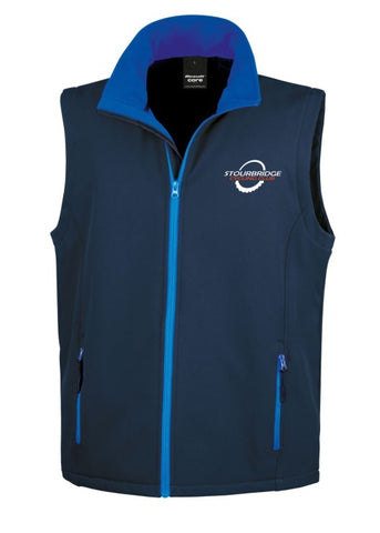 SCC Navy Soft Shell Gilet