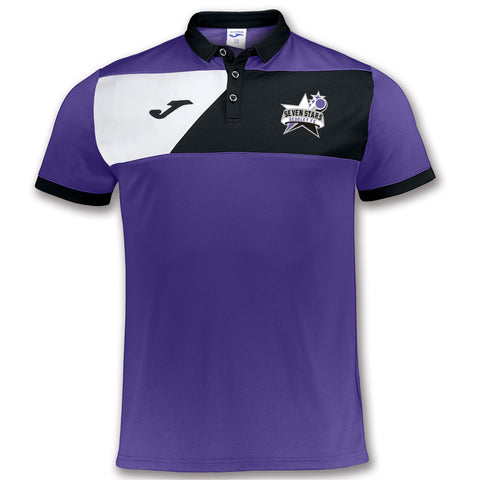 Seven Stars - Purple Polo