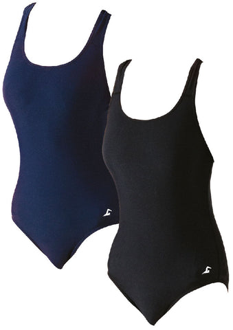 Swim tec navy swim suit