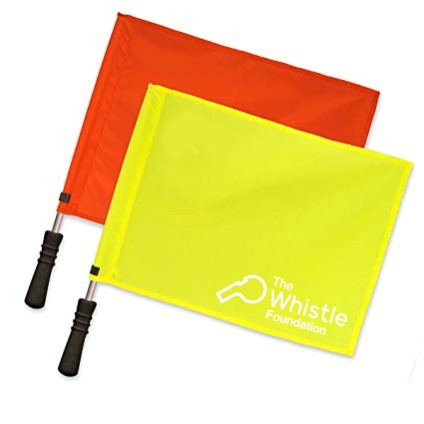 The Whistle Foundation Linesman Flags