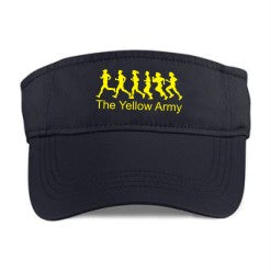 Yellow Army Sun Visor
