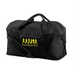 Yellow Army Kit Bag