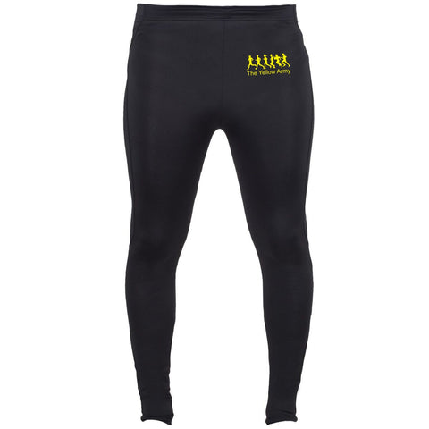 Mens Yellow Army Full Length Bottoms