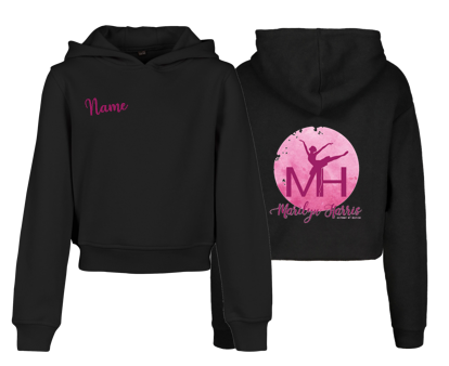 Marilyn Harris School Of Dance Crop Hoodie