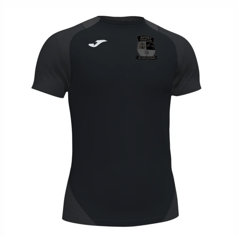 Avery FC - Black Out Joma Essential T-Shirt