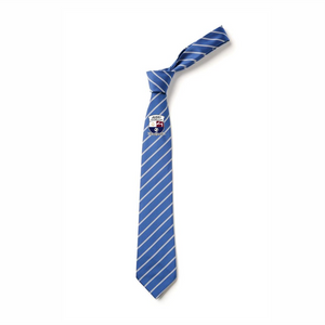 Avery FC Royal/White Stripped Tie