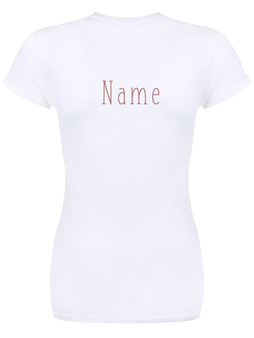 Ladie's Rose Gold Bride Tribe Hen Do T-Shirt