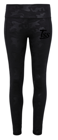 TSS Women's Black Camo Leggings
