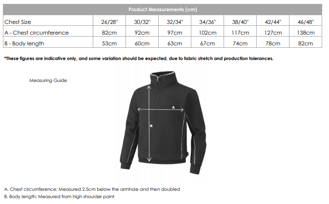 Kingswinford Academy P.E. 1/4 Zip Sweat Top [KWS]