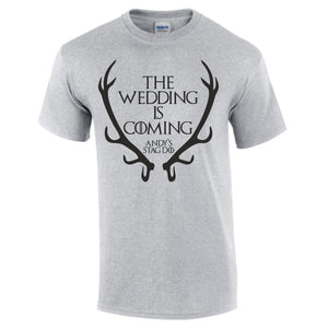 Men's Game Of Thrones Stag Do T-Shirt