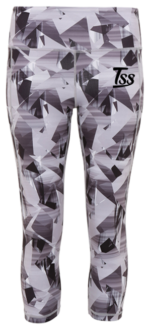 TSS Women's Graphic 3/4 Leggings