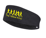 Yellow Army Running Headband