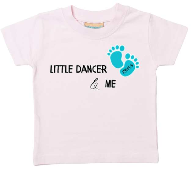 Little Dancer & Me Children T-Shirt