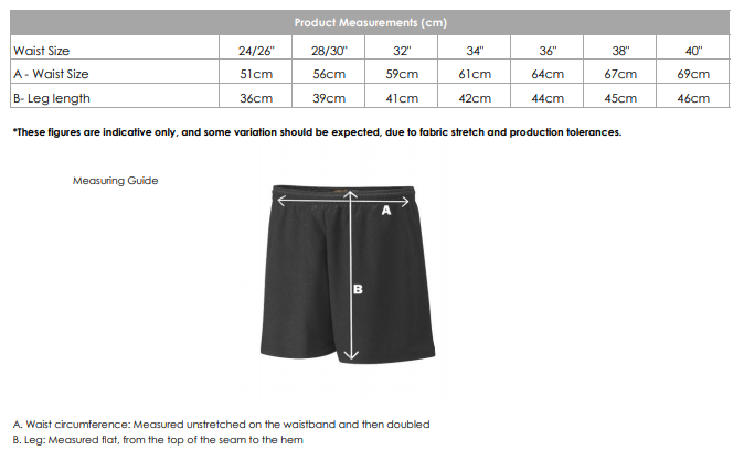 Summerhill P.E. Shorts [SHS]
