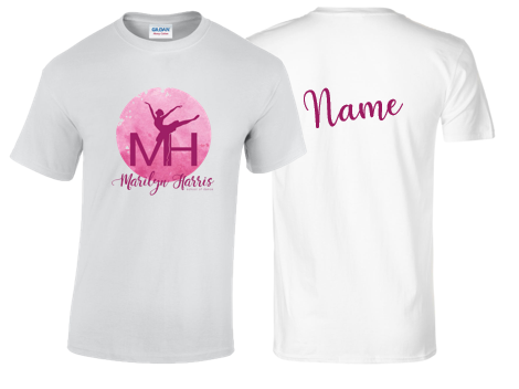 Marilyn Harris School Of Dance T-Shirt - Youth & Ladies