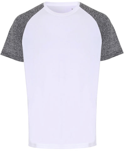 Contrast Sleeve Performance Men's T-Shirt