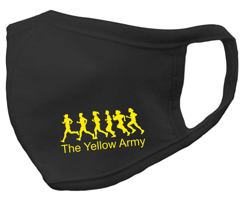 Yellow Army Protective Face Mask