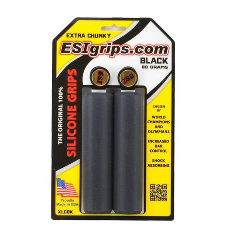 ESI Grips - Tape - Barends Black ESI Extra Chunky 34mm Grip 181517000544
