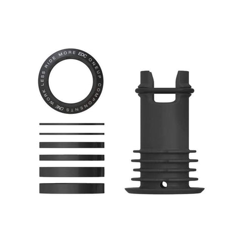 OneUp Components Stems Black OneUp Components EDC Top Cap 1C0414BLK