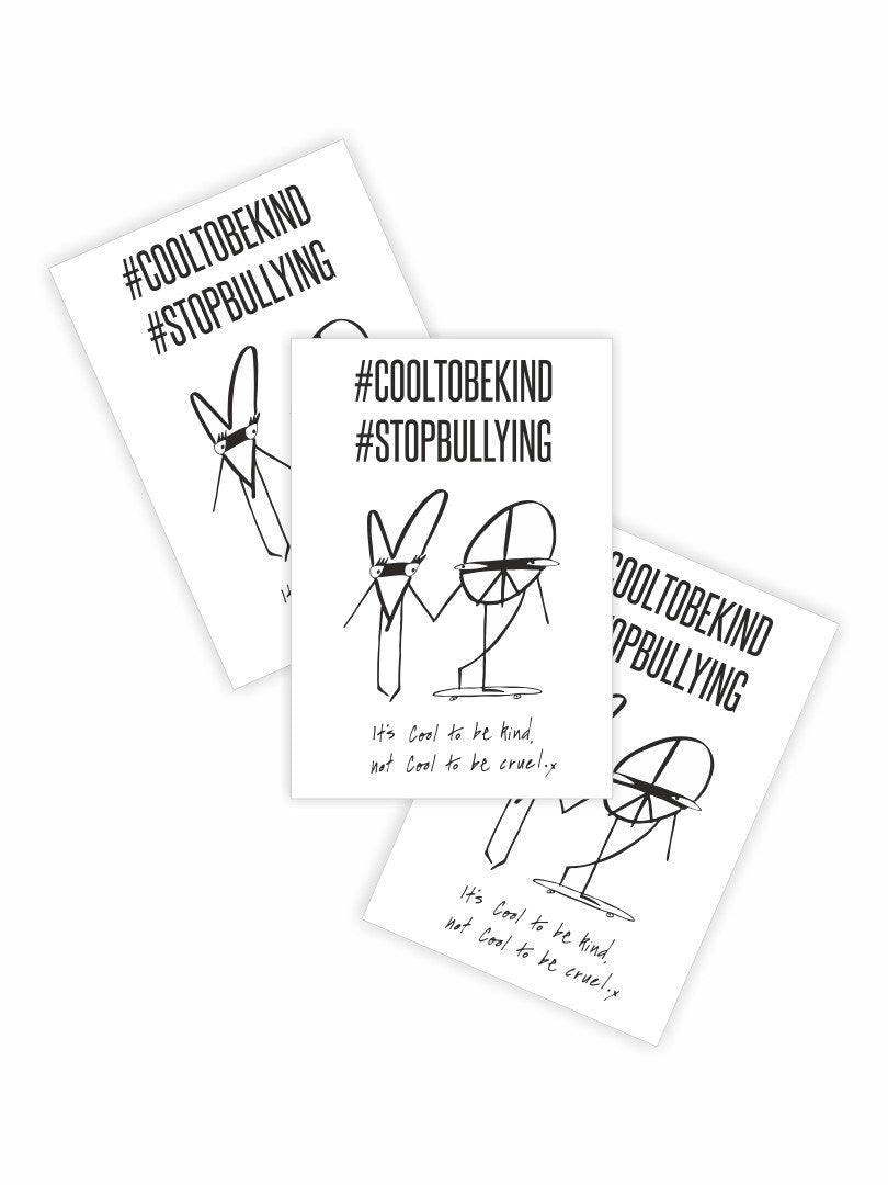 STOP BULLYING CAMPAIGN TATTOO