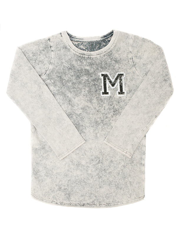 Tee | Acid Wash Grey