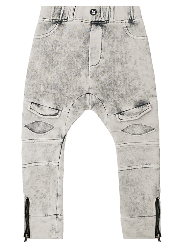 Rebel Pant | Acid Wash Grey