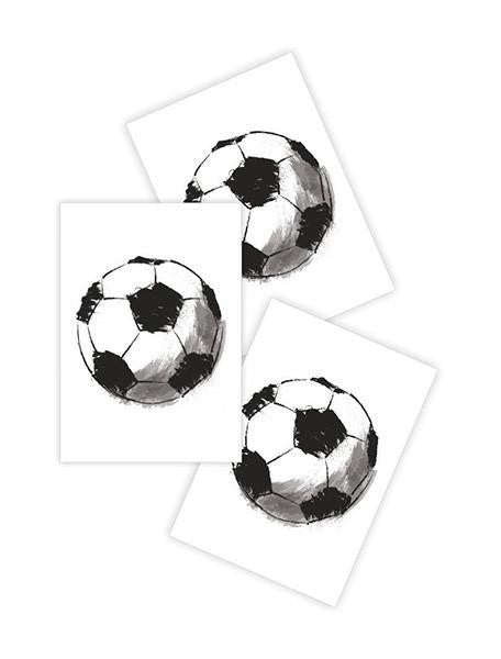 SOCCER BALL TATTOO-ACCESSORIES-Ducky Street-NINOCRUZ