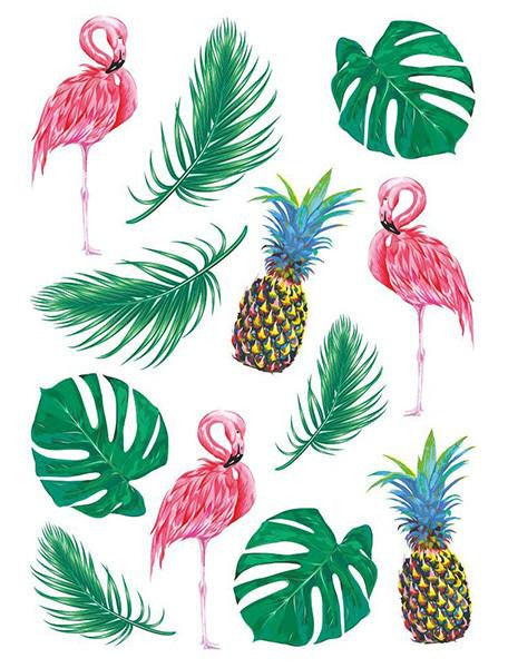 TROPICAL TATTOO-ACCESSORIES-Ducky Street-NINOCRUZ