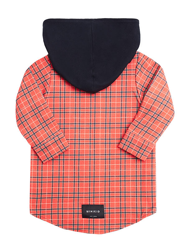 Shirt | Red Checkered