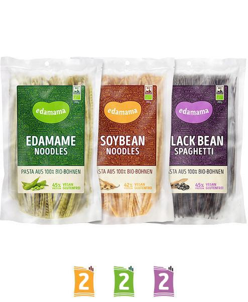 EDAMAMA TRIPLE PACKAGE