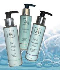 Hand, Face and Body Anti-Bacterial Soaps
