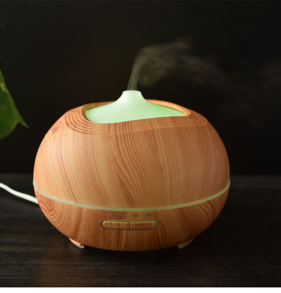 Wood Grain Humidifier Diffuser