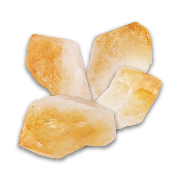 3pc Citrine Healing Points