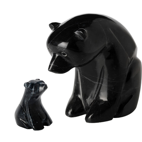 Black Marble Polar Bears