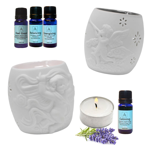 Cherubs Oil Burner's with 1 essential oil.