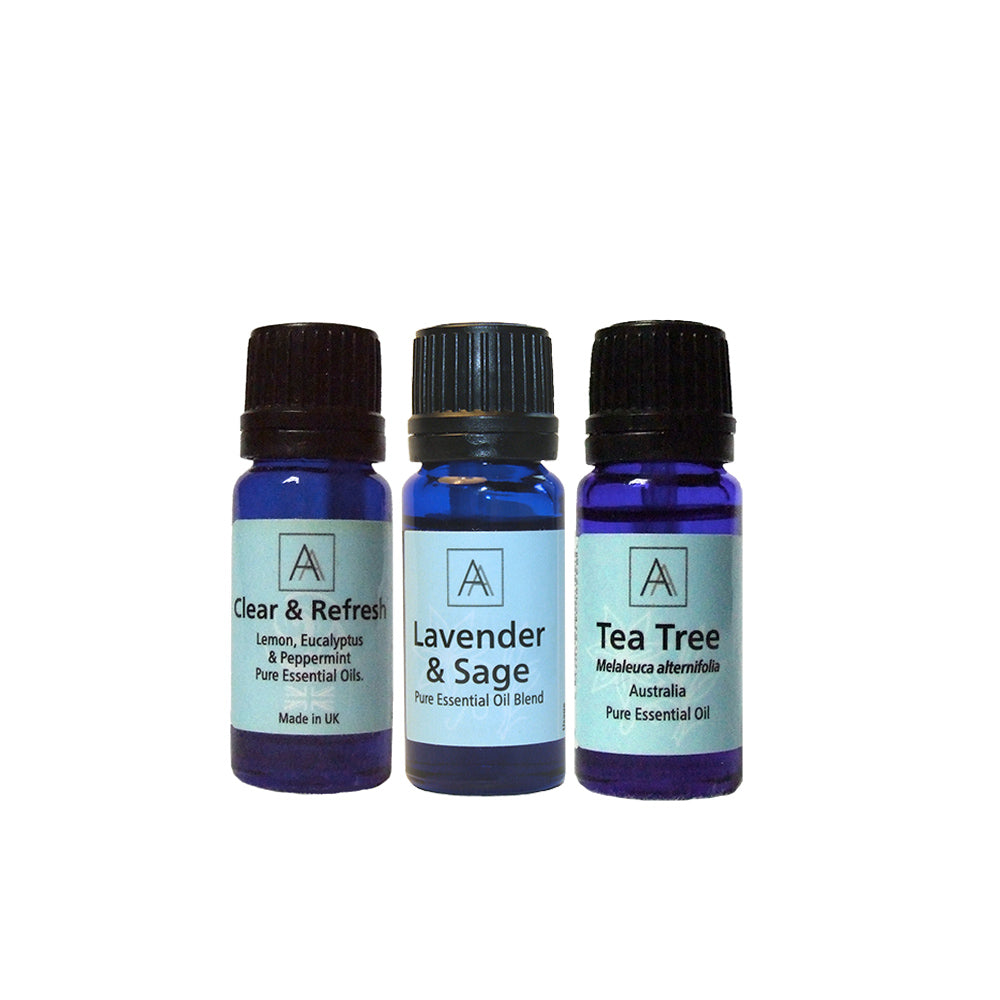 Lavender & Sage, Clear & Refresh & Tea Tree
