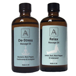 De-stress and Relax Massage Oil's