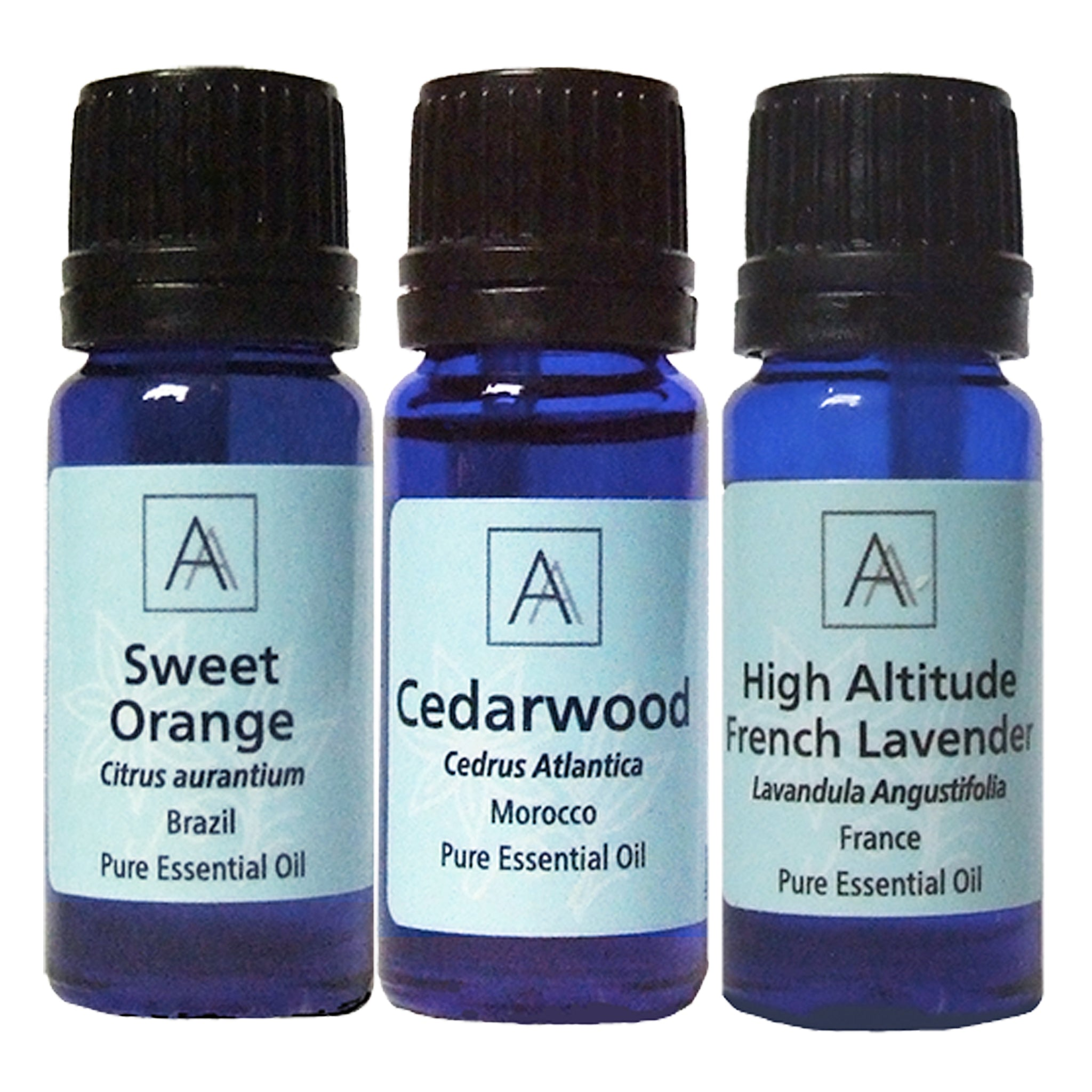 Sweet Orange, French Lavender and Cedarwood Essential Oils