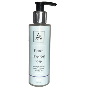 150ml French Lavender anti-bacterial Hand, Face and Body Soap