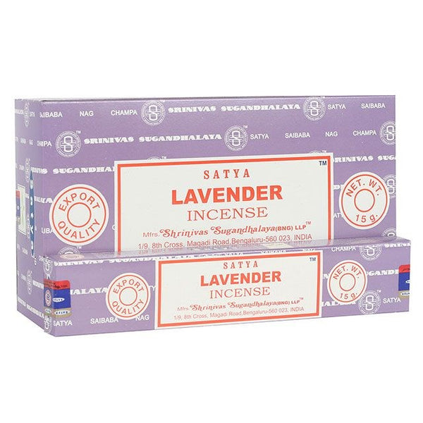 Lavender Incense Sticks by Satya