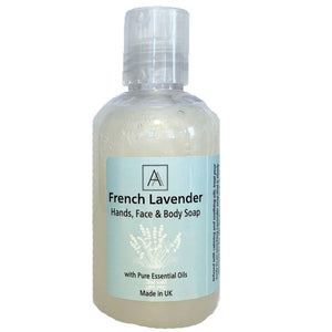 Lavender anti-bacterial Hand, Face and Body Soap