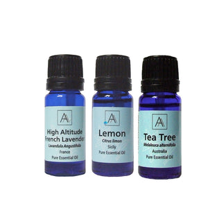 Lemon, Lavender and Tea Tree