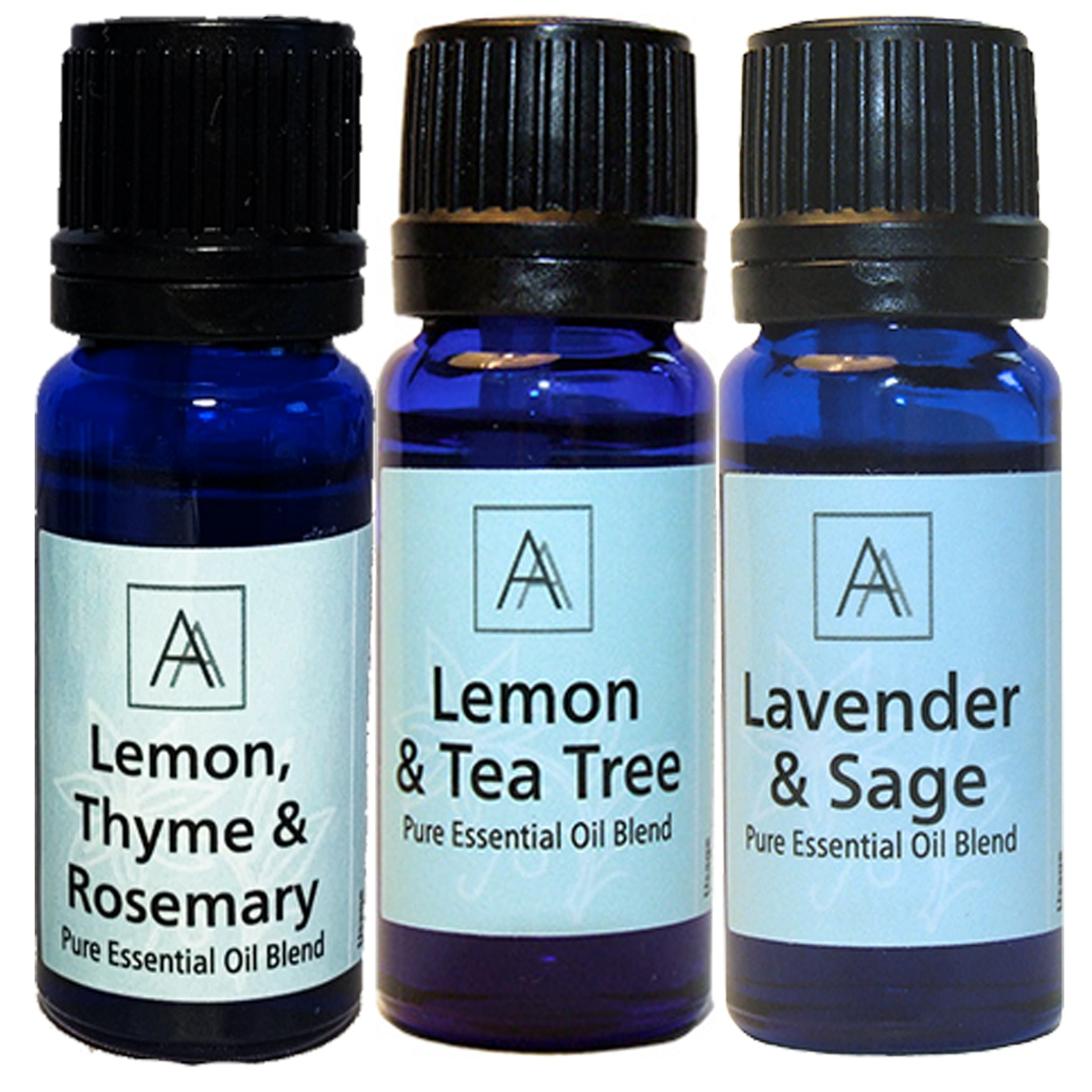 Lavender & Sage, Lemon & Tea Tree, Lemon, Thyme & Rosemary