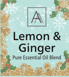 Lemon and Ginger Essential Oil Blend
