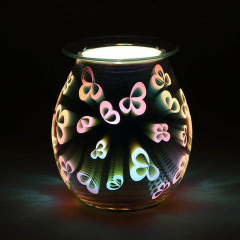 Flower Petal Light Up Electrical Oil Burner