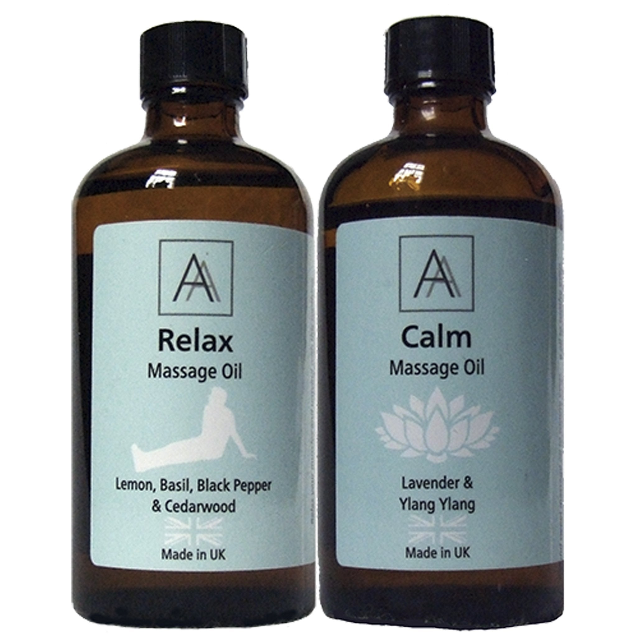 Relax and Calm Massage Oil's