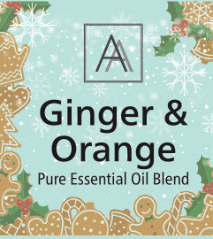 Sweet Orange and Ginger Essential Oil Blend
